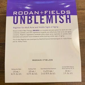 Brand NEW R+F Unblemish Regimen